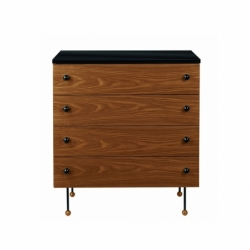 GROSSMAN 62 SERIES 4 drawers Dresser - Storage Unit - Designer Furniture -  Silvera Uk