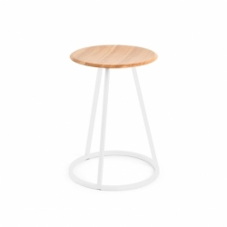 GUSTAVE H45 - Stool - Designer Furniture -  Silvera Uk