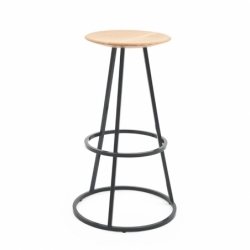 GUSTAVE H65 - Bar Stool - Designer Furniture -  Silvera Uk