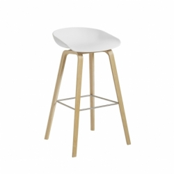 ABOUT A STOOL AAS 32 H74 - Bar Stool - Designer Furniture -  Silvera Uk