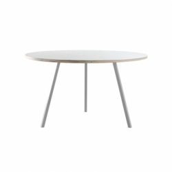 LOOP STAND ROUND Ø 120 - Dining Table - Showrooms -  Silvera Uk