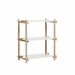 WOODY COLUMN LOW - Shelving - Designer Furniture -  Silvera Uk