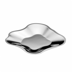 AALTO steel Dish - Table Centrepiece -  -  Silvera Uk
