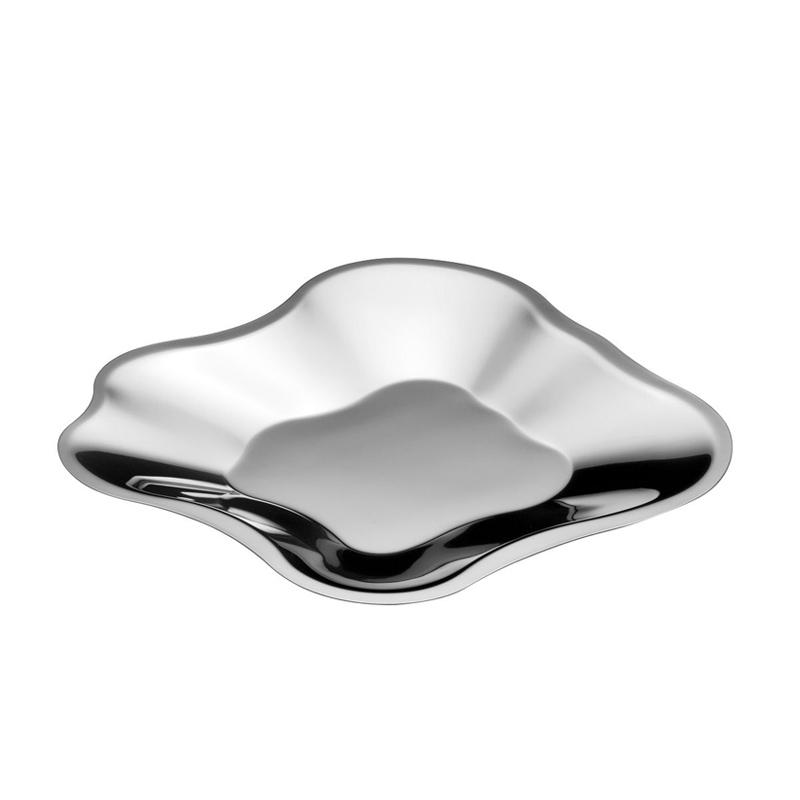 AALTO steel Dish - Table Centrepiece - Accessories - Silvera Uk