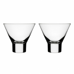 AARNE set of 2 Cocktail Glasses - Glassware - Accessories -  Silvera Uk