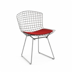 BERTOIA with seat pad - Dining Chair - Designer Furniture -  Silvera Uk