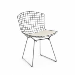 BERTOIA with seat pad - Dining Chair - Designer Furniture -  Silvera Uk
