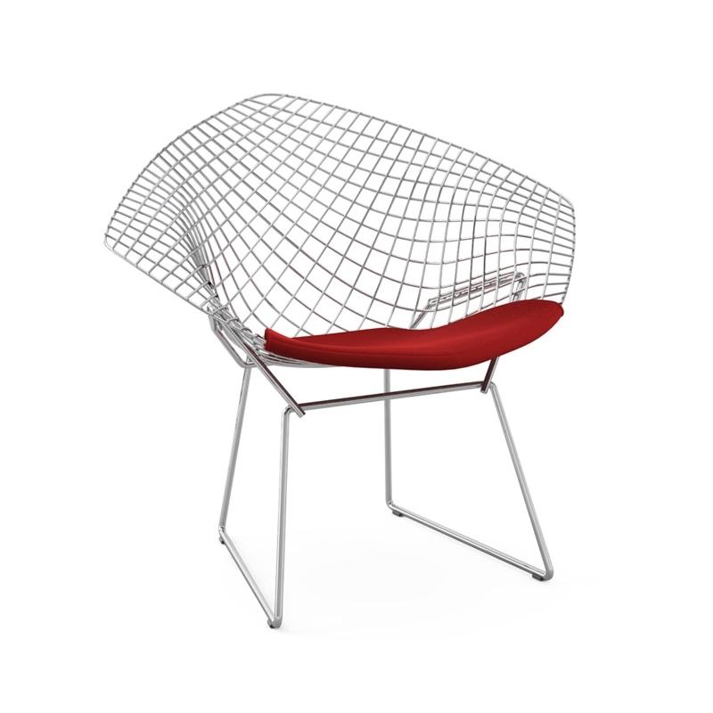 DIAMANT with seat pad - Easy chair - Designer Furniture - Silvera Uk