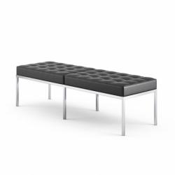 FLORENCE KNOLL - Designer Bench -  -  Silvera Uk