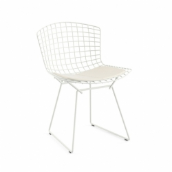 BERTOIA OUTDOOR with seat pad - Dining Chair - Designer Furniture -  Silvera Uk