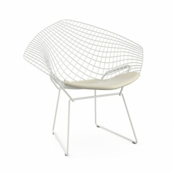 DIAMANT OUTDOOR with seat pad - Dining Armchair -  -  Silvera Uk