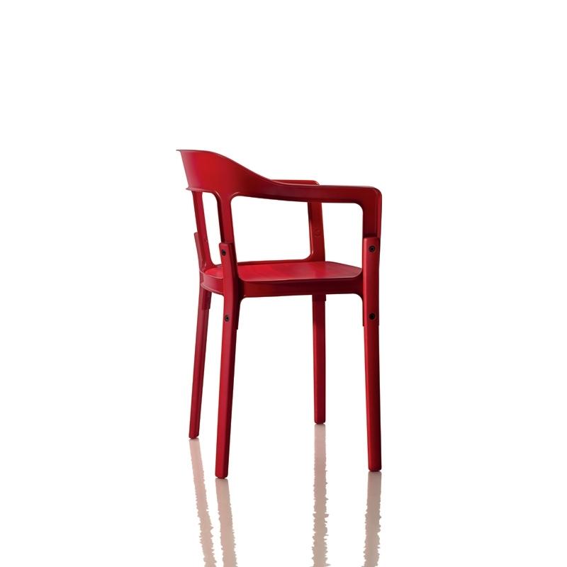 STEELWOOD - Dining Armchair - Designer Furniture - Silvera Uk