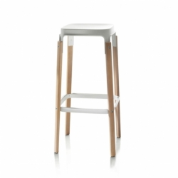 STEELWOOD - Bar Stool - Designer Furniture -  Silvera Uk