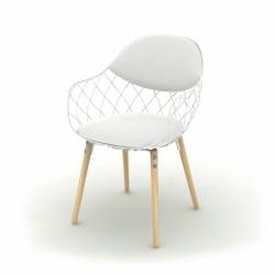 PIÑA fabric - Dining Armchair - Designer Furniture -  Silvera Uk