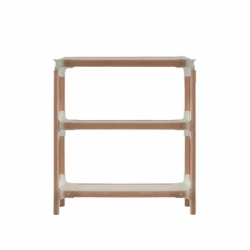STEELWOOD SHELVING SYSTEM 3 trays 1 module - Shelving - Designer Furniture -  Silvera Uk