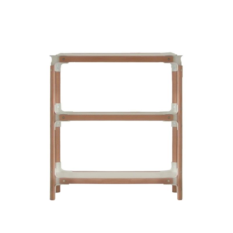 STEELWOOD SHELVING SYSTEM 3 trays 1 module - Shelving - Designer Furniture - Silvera Uk