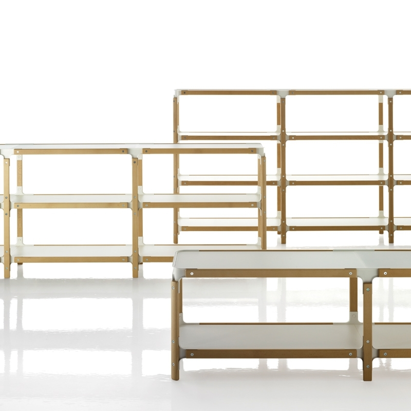 STEELWOOD SHELVING SYSTEM 3 plateaux 2 modules
