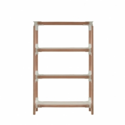 STEELWOOD SHELVING SYSTEM 4 trays 1 module - Shelving - Designer Furniture -  Silvera Uk