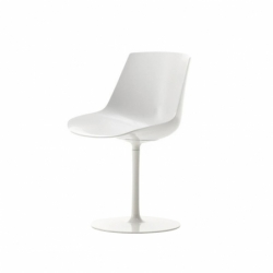 FLOW central leg - Dining Chair - Designer Furniture -  Silvera Uk