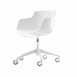 FLOW SLIM 5 Ways swivel - Office Chair - Designer Furniture -  Silvera Uk