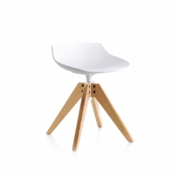 FLOW STOOL H 44 - Stool - Designer Furniture -  Silvera Uk