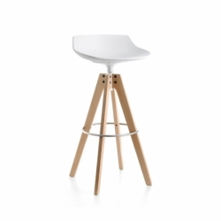 FLOW STOOL - Bar Stool - Designer Furniture -  Silvera Uk