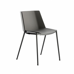 AÏKU tapered legs - Dining Chair - Designer Furniture -  Silvera Uk