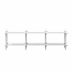 STICKS 3x2 - Shelving - Designer Furniture -  Silvera Uk