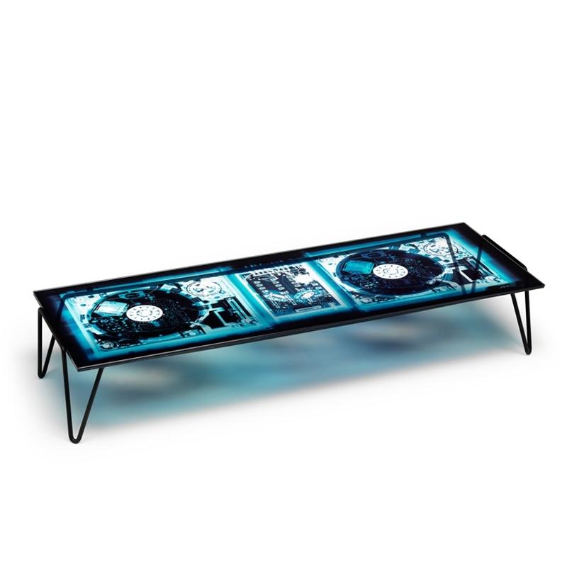 DIESEL X RAYDIO 2 DISC - Coffee Table - Designer Furniture - Silvera Uk