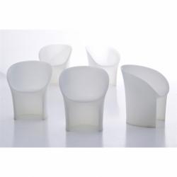 MOON translucent - Dining Armchair - Designer Furniture - Silvera Uk