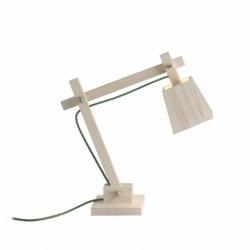 WOOD LAMP - Table Lamp - Designer Lighting - Silvera Uk