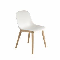 FIBER CHAIR 4 wooden legs - Dining Chair -  -  Silvera Uk