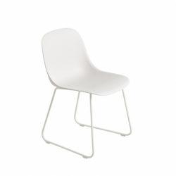 FIBER CHAIR sled base - Dining Chair -  -  Silvera Uk