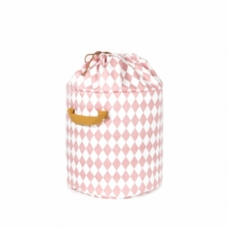 Panier à jouets BAOBAB Ø 35 losanges - Storage - Child -  Silvera Uk