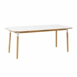 FORM TABLE 200 x 95 - Dining Table - Designer Furniture -  Silvera Uk