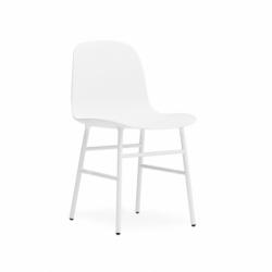 FORM CHAIR steel legs - Dining Armchair - Designer Furniture -  Silvera Uk