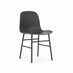 FORM CHAIR steel legs - Dining Armchair - Silvera Contract -  Silvera Uk