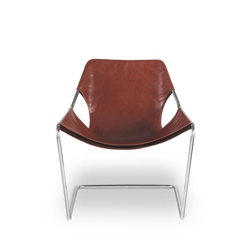 PAULISTANO leather - Easy chair - Designer Furniture - Silvera Uk