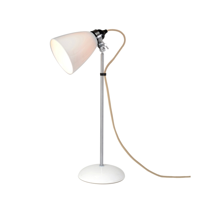 HECTOR DOME Medium - Desk Lamp - Designer Lighting - Silvera Uk