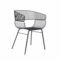 TRAME - Dining Armchair - Designer Furniture -  Silvera Uk