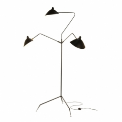 3 BRAS - Floor Lamp - Designer Lighting -  Silvera Uk