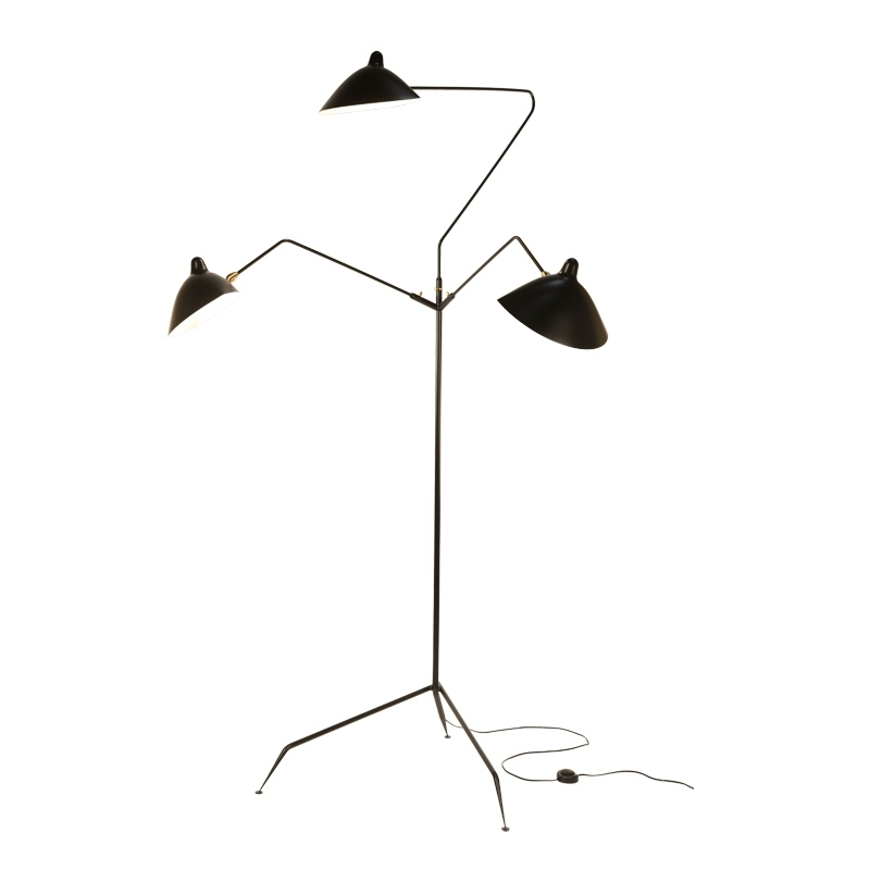 3 BRAS - Floor Lamp - Designer Lighting - Silvera Uk