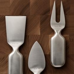 Set de 3 couteaux à fromage CINQUE STELLE - Accueil - Racine - Silvera Uk