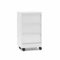 CLASSEUR A CLAPETS 3 leaf-door with castors - Storage Unit - Spaces -  Silvera Uk