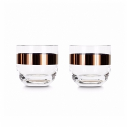 TANK Set of 2 whisky glasses - Glassware - Accessories -  Silvera Uk