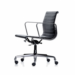ALUMINIUM GROUP Low backrest EA117 - Office Chair - Designer Furniture -  Silvera Uk