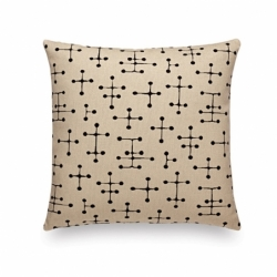 MAHARAM SMALL DOT PATTERN DOCUMENT Cushion - Cushion - Accessories -  Silvera Uk