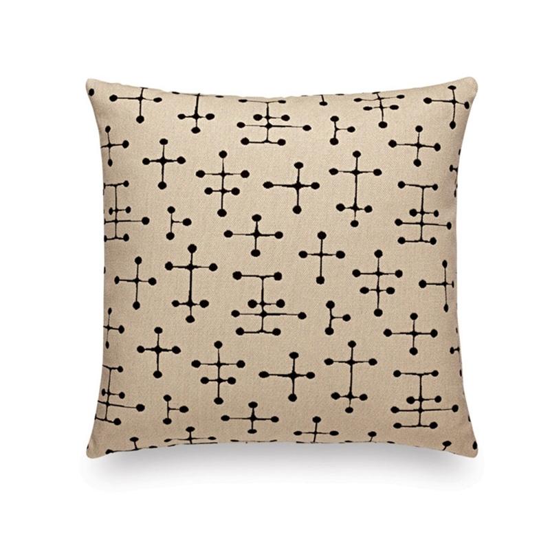 MAHARAM SMALL DOT PATTERN DOCUMENT Cushion - Cushion - Accessories - Silvera Uk
