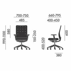 ID TRIM - Office Chair - Designer Furniture - Silvera Uk