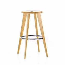 HIGH STOOL - Bar Stool - Designer Furniture -  Silvera Uk